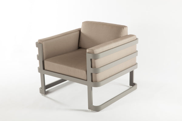 The Patras Lounge Chair [FCC3510GREY] 4
