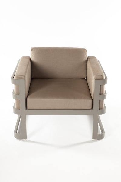The Patras Lounge Chair [FCC3510GREY] 5