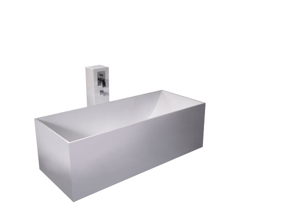 Controlbrand True Solid Surface Soaking Tub - Reiki [BW4156MW]