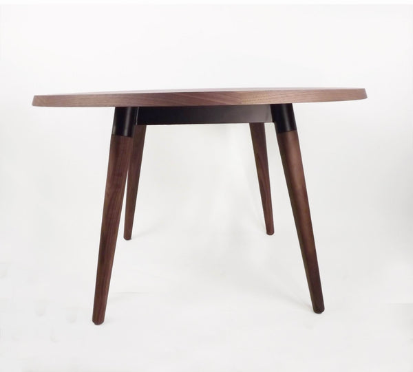 The Milton dining table in Real Walnut [FET1919B] 1