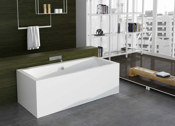Controlbrand True Solid Surface Soaking Tub - Reiki Matte [BW4156MW]