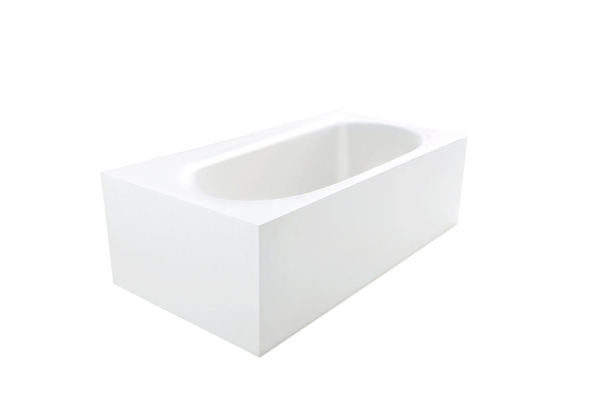 Controlbrand True Solid Surface Soaking Tub - Zenith [BW8156SW] 2