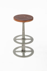 The Vrove Stool [FOC85169WALNUT]