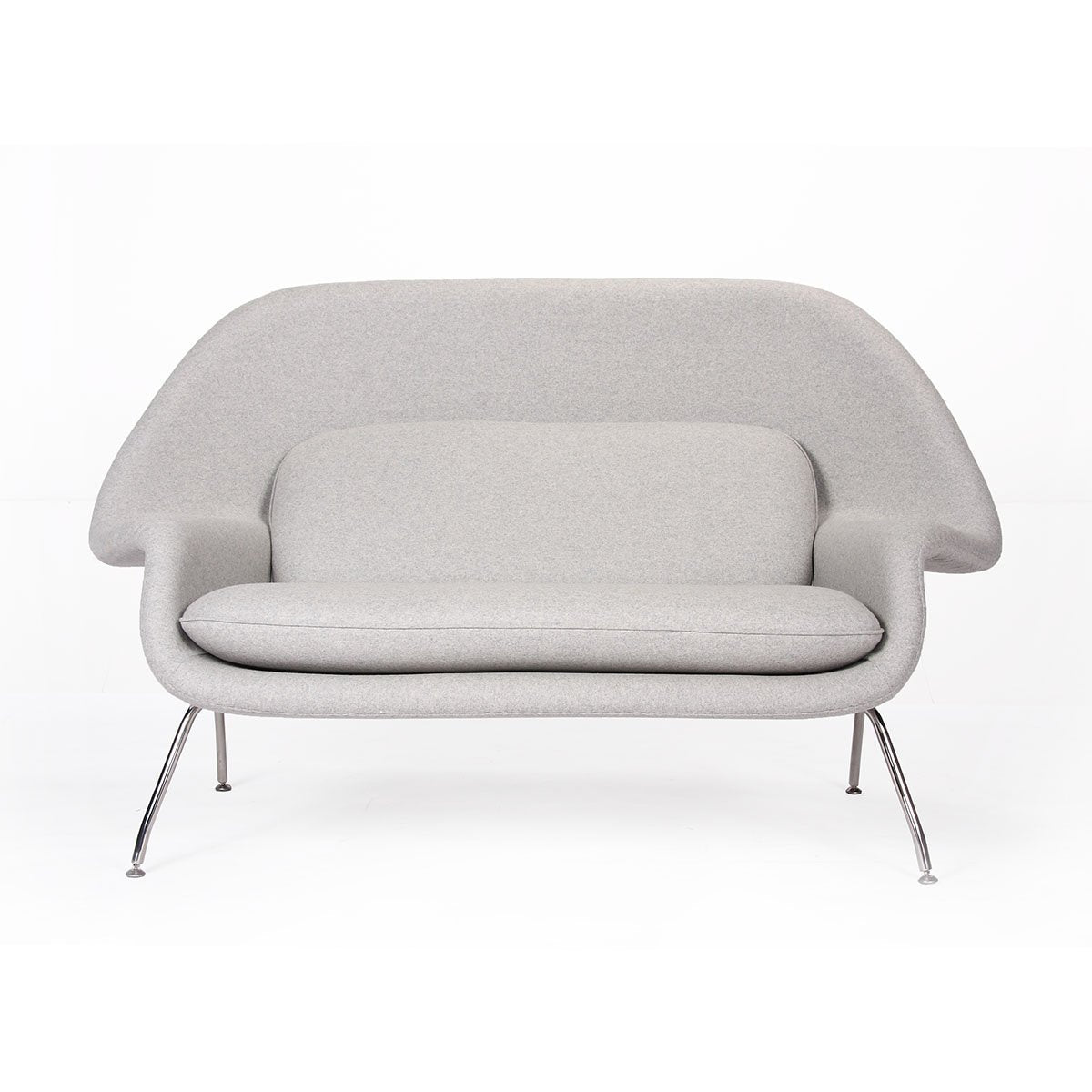 [FB2289LGREY] Womb Loveseat