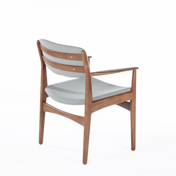 Honefoss Arm Chair - Grey [FEC9119GREY]