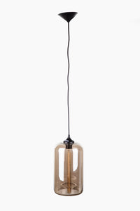 The Arendal Pendant in Brown Tint [LM593PBRN]
