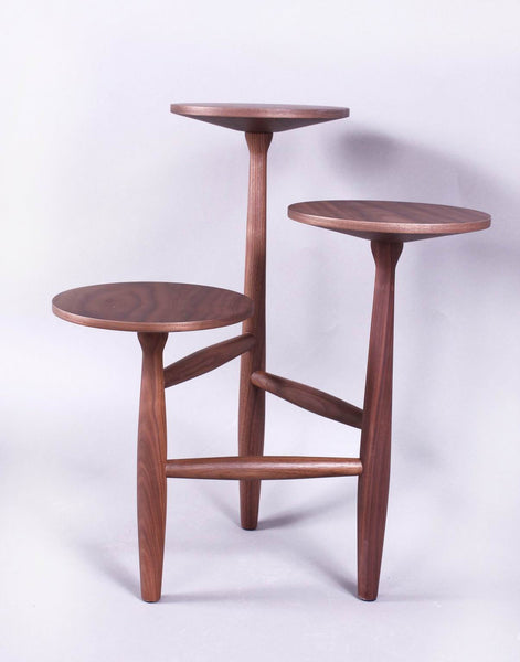 The Francine Side Table in Solid Walnut S [FET5219A]