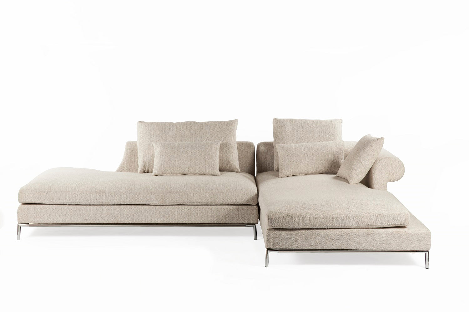 The Scandicci Sectional [FQS009BEIGE]