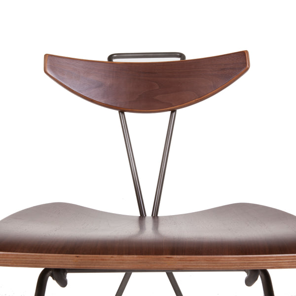 Jonasen Side Chair [FOC58846WALNUT]
