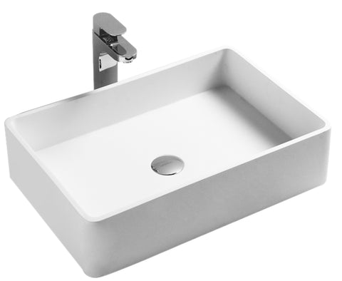 The Dessau True Solid Surface Sink Vessel