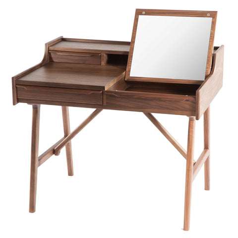 The Vanity Desk [FET1539WALNUT]