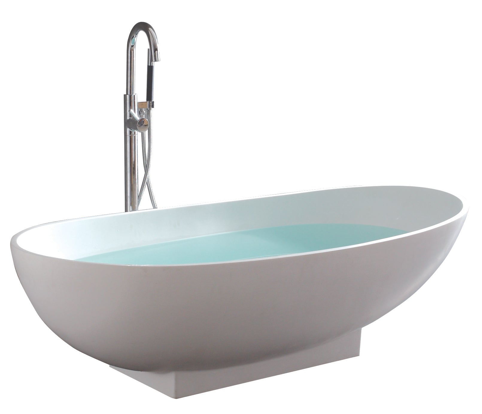 Controlbrand True Solid Surface Soaking Tub - Grace Matte [BW0156MW]