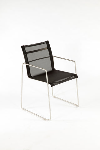 The Dynamic Arm Chair - Black [FCC0704BLK]