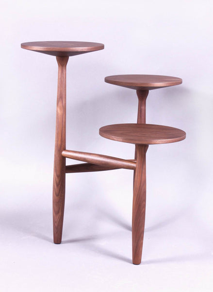 The Francine Side Table in Solid Walnut S [FET5219A] 1