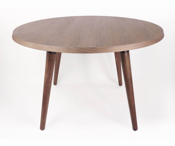 The Milton dining table in Real Walnut [FET1919B]