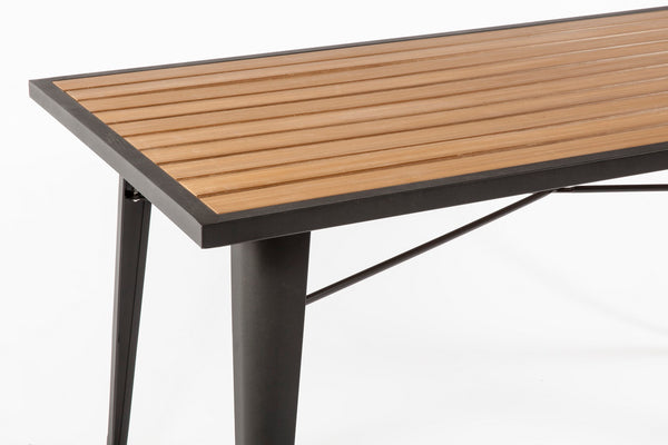 Good Form French Outdoor table [FKT002NATURAL] 5