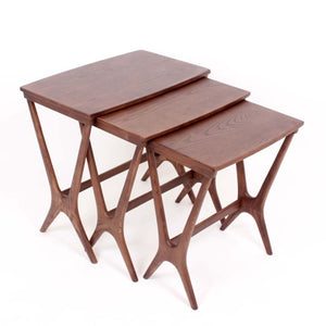 Hein Nesting Table [FET7339WALNUT] 4