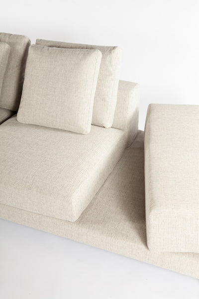 The Sectional Sofa [FQS1303BEIGE]