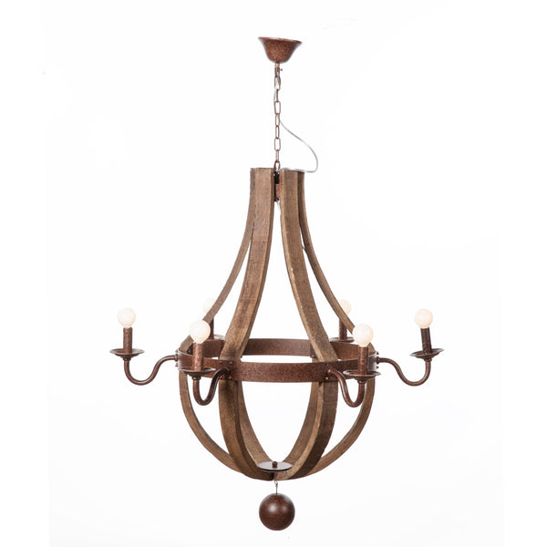 The Hvitsen Chandelier [LU828WOOD]