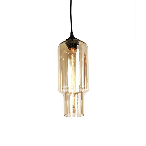 The Tastrup Pendant in Brown tint [LM592PBRN]