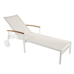 The Flevoland Sun Lounger [FCC0261WHT]