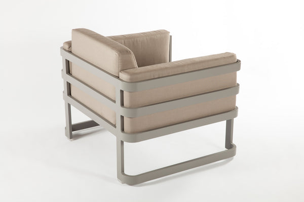 The Patras Lounge Chair [FCC3510GREY] 2