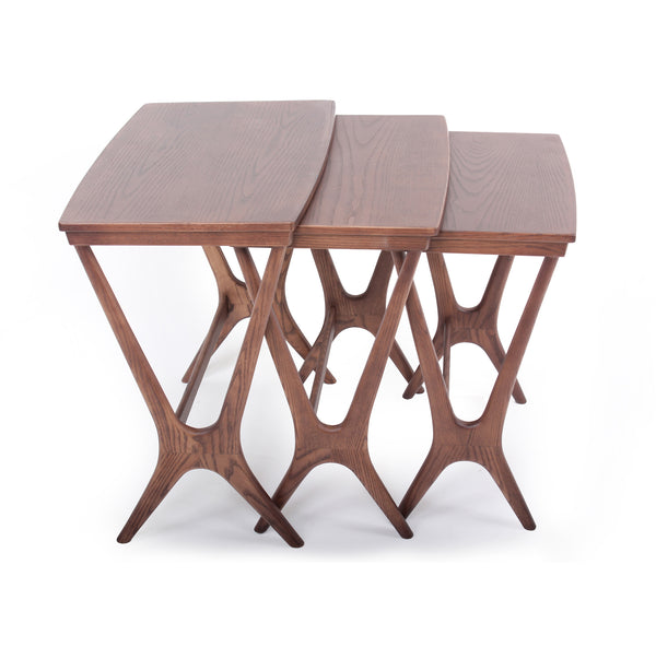 Hein Nesting Table [FET7339WALNUT]