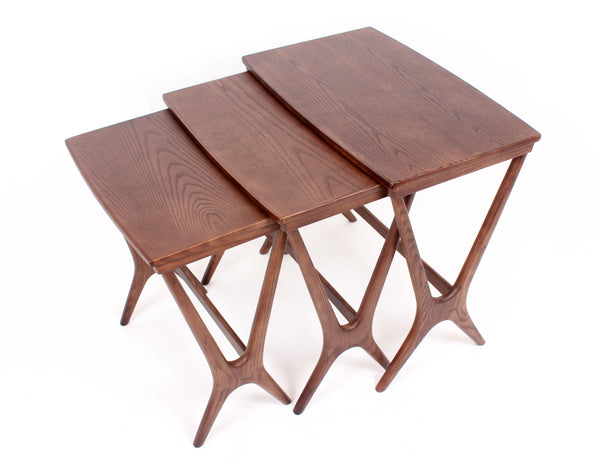 Hein Nesting Table [FET7339WALNUT] 3
