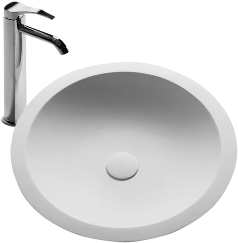 The Schreyer True Solid Surface Sink Vessel