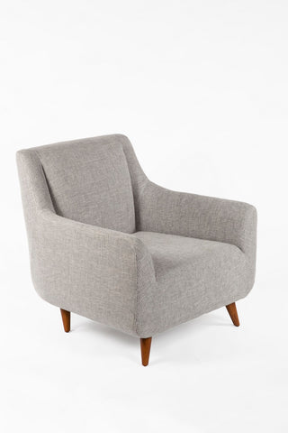 The Brenda Lounge Chair [FXC101GREY] 3