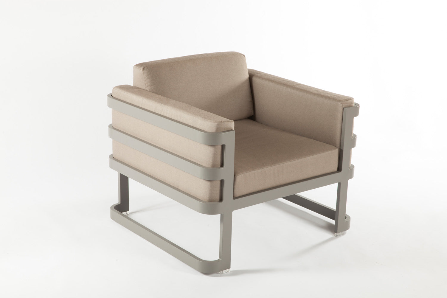 The Patras Lounge Chair [FCC3510GREY] 3