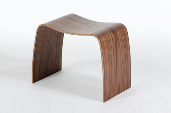 "The"" Lille"" Stacking Stool [FEC1119WALNUT]"