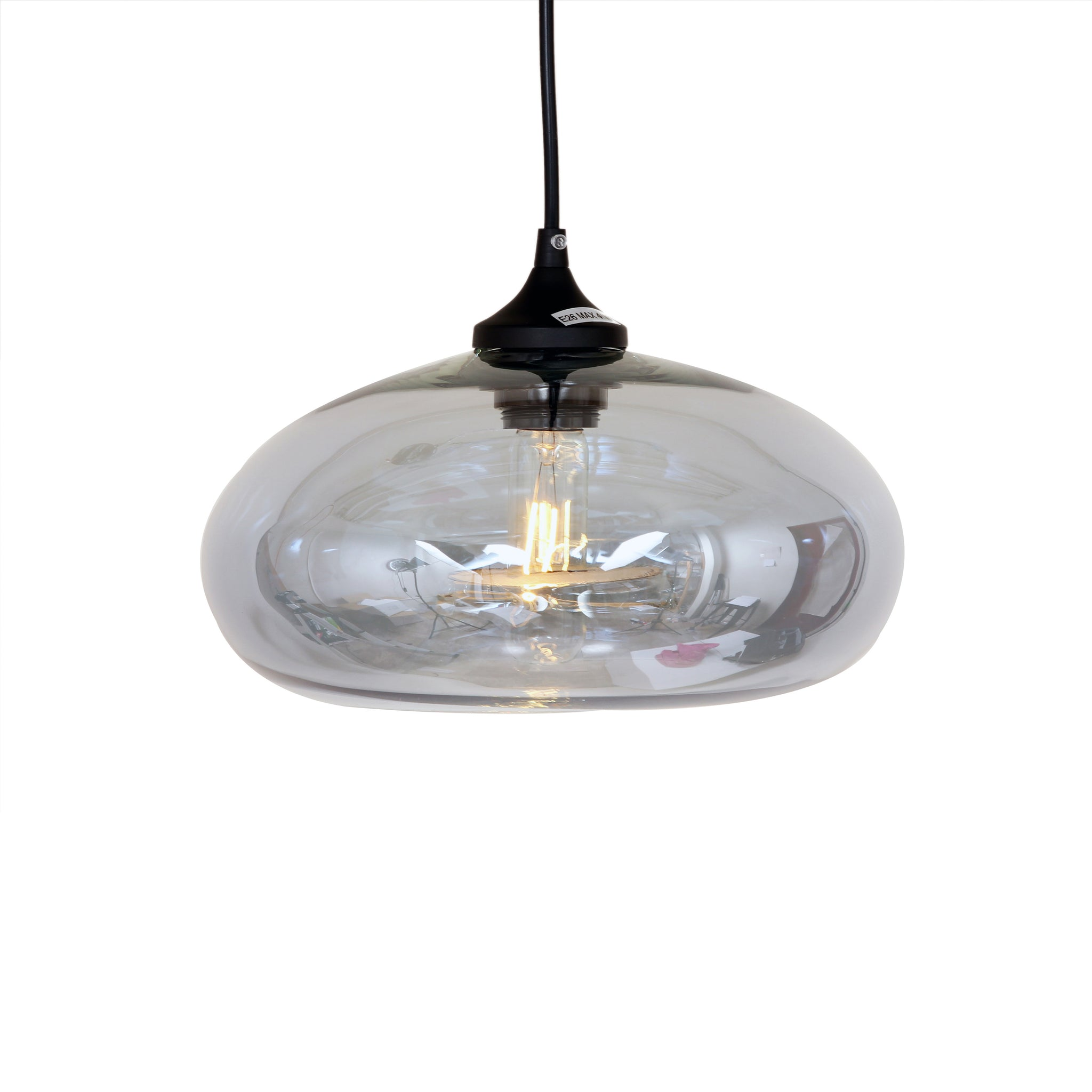 The Bodo Pendant in Grey Tint [LM595PGREY]