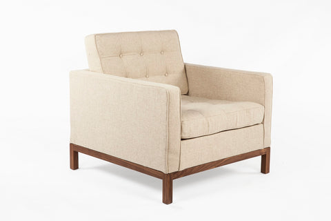 The Dexter Lounge Chair [FEC3719BEIGE1] 2