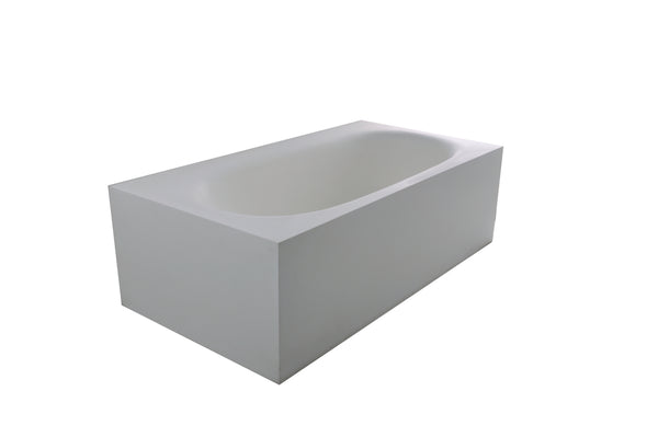 Controlbrand True Solid Surface Soaking Tub - Zenith [BW8156SW]