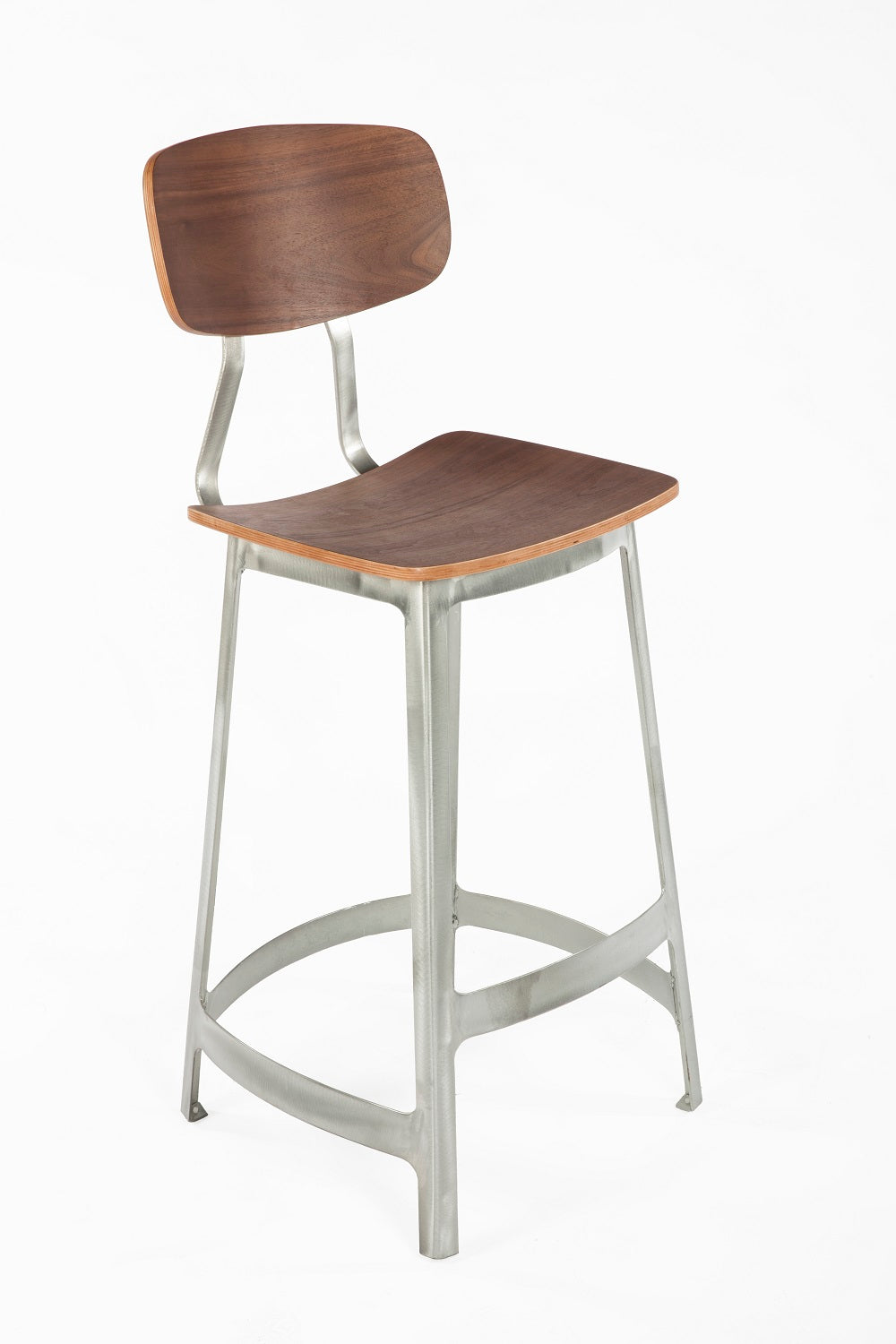 The Vyl Stool [FOC52575WALNUT]