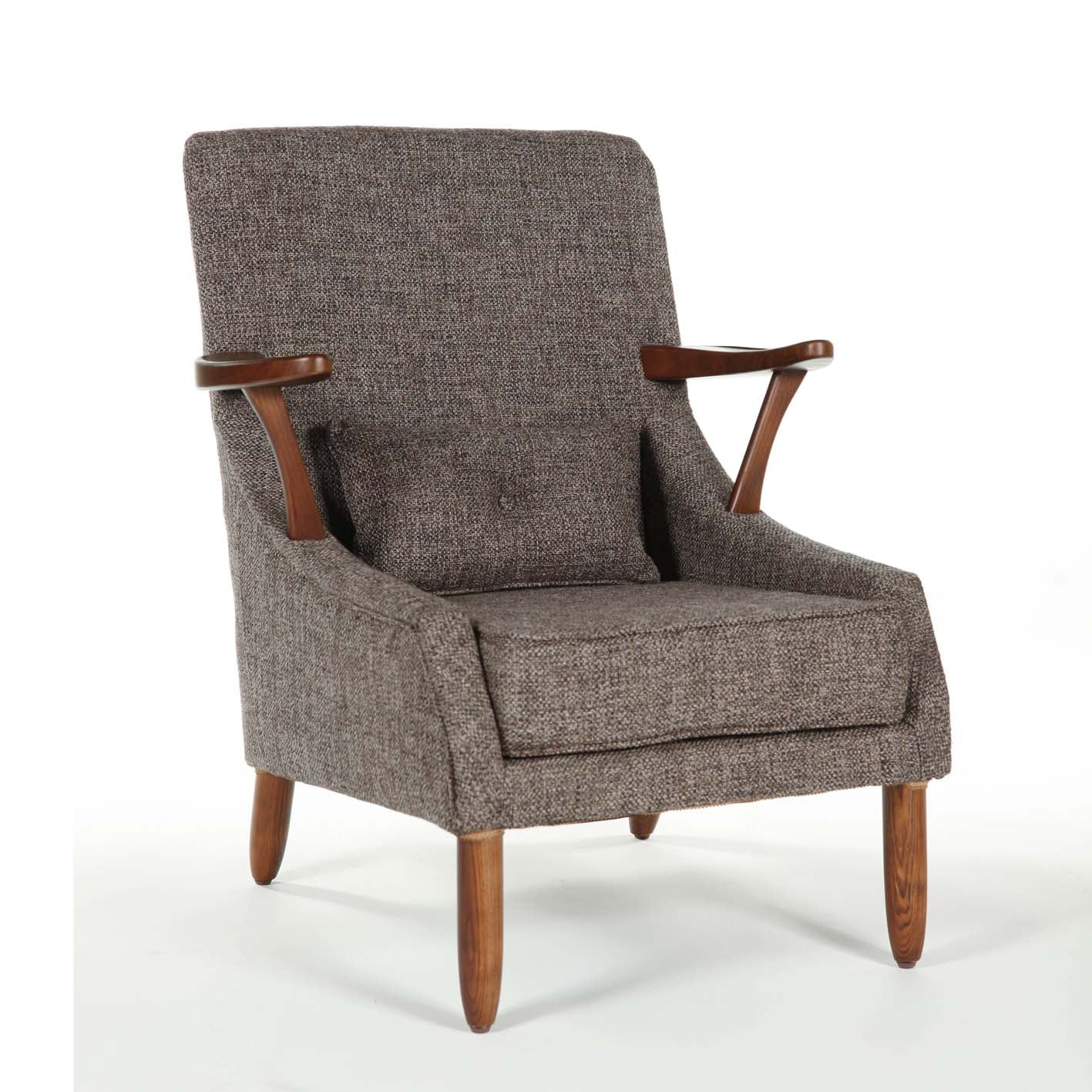 Vejle Arm Chair [FYC938TWBRN] 6