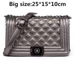 Diamond Lattice Crossbody Bags - Lellasbags