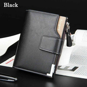 Quality Guarantee Leather Short Wallets - Lellasbags