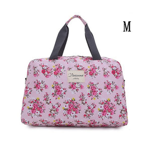 Floral Pattern Large Capacity Travel Bag - Lellasbags