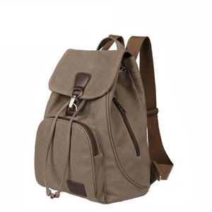 Double Root Canvas Backpack - Lellasbags