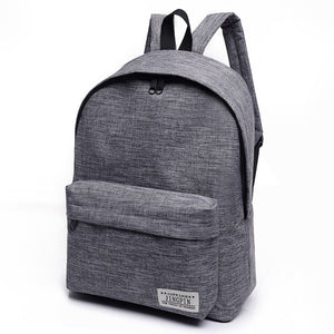 Canvas Large Capacity Laptop Backpack - Lellasbags