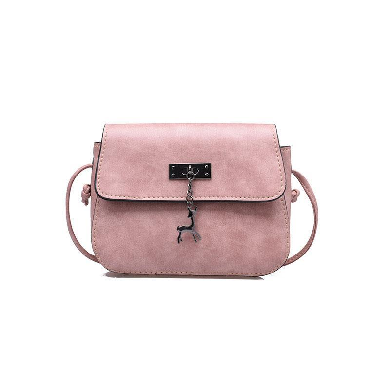 PU Leather Mini Female Shoulder Bag - Lellasbags
