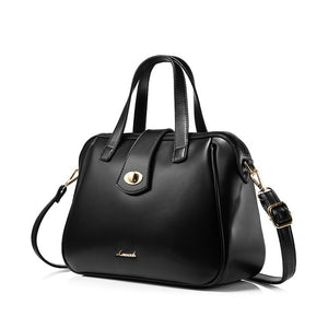 Female casual tote satchel top handle bag - Lellasbags