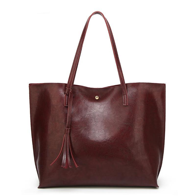 Soft Leather High Quality Top Handle Bags - Lellasbags