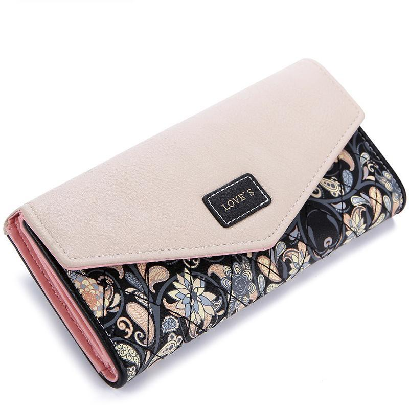 Printing Leather High Quality Wallet - Lellasbags
