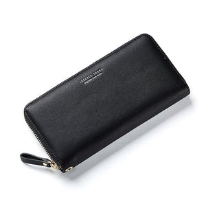 Wristband Women Long Clutch Wallet Large Capacity Wallets - Lellasbags