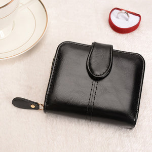 Short Length Top Grade Pu Leather Wallet - Lellasbags