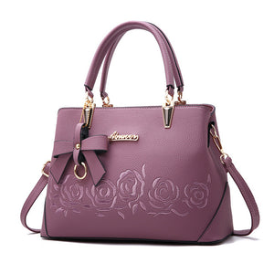 Top-Handle Vintage  Leather Handbag - Lellasbags