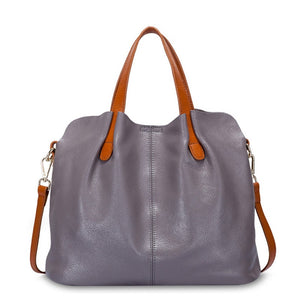 100% genuine leather crossbody bags - Lellasbags